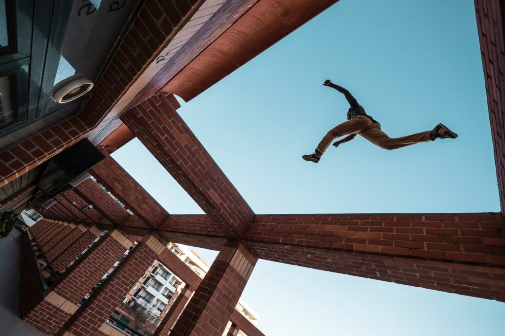 3 reasons to practice parkour